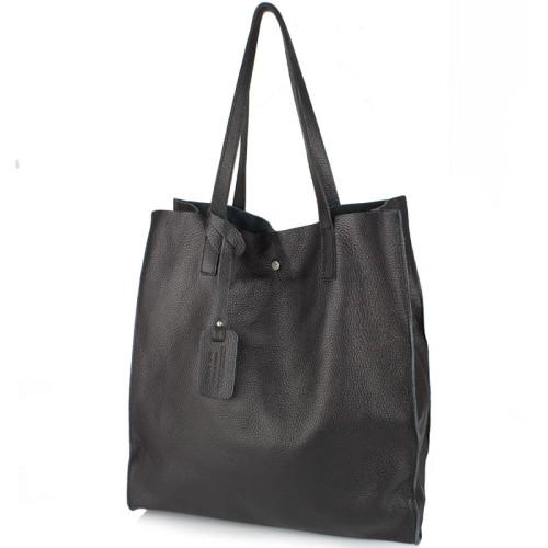 946342c45d6cb Włoska torebka skórzana Shopper Bag (id 501) ZOUZI