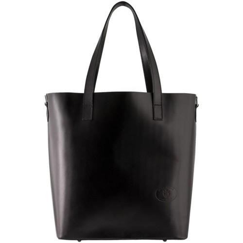 b901a6ab977c0 Vera Pelle Włoska torebka skórzana Shopper Bag (id 271) ZOUZI
