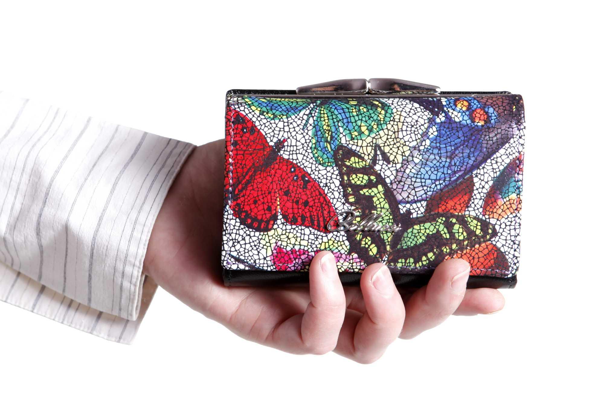 936e7bbc78218 Kolorowe motyle fRANCO BELLUCCI · Kolorowe motyle BELLUCCI · fRANCO  BELLUCCI Skórzany portfel · fRANCO BELLUCCI Skórzany portfel ...